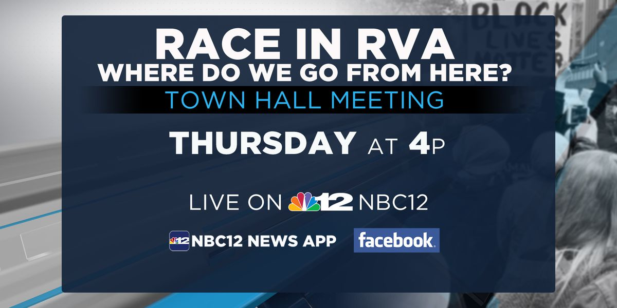 NBC12 holds Town Hall special 'Race In RVA: Where Do We Go From Here?'