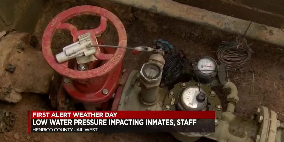 Bad water meter leaves Henrico inmates, jail staff with low water pressure