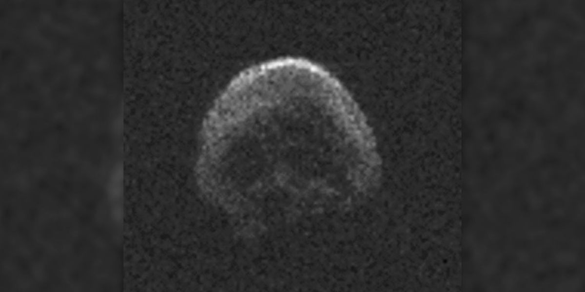 NASA: Skull-shaped asteroid to pass by Earth on Halloween night