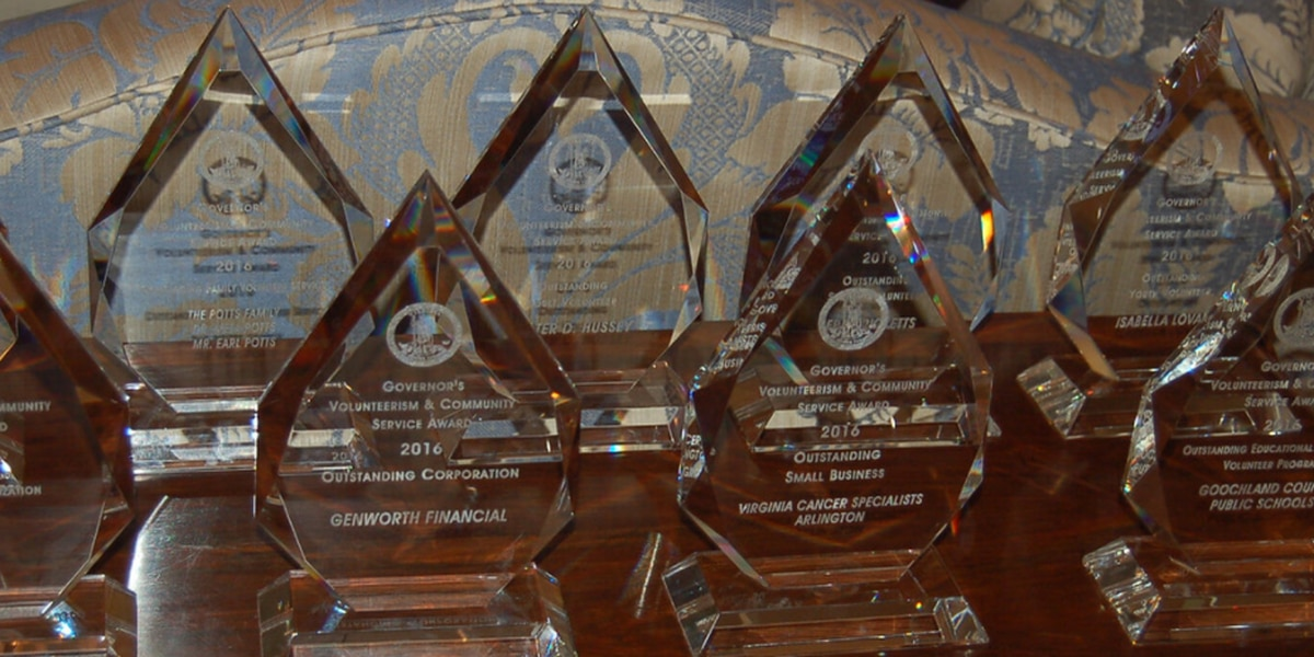 Nominations begin for Governor's Volunteerism and Community Service Awards