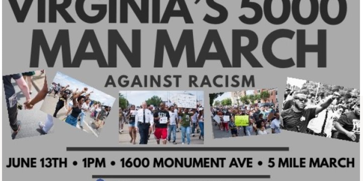 Family member of George Floyd set to speak at Virginia's 5,000 Man March