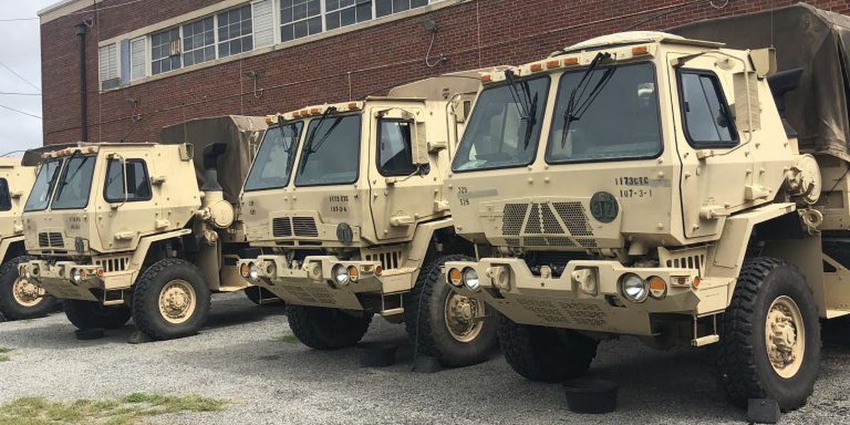 Virginia National Guard on standby for Hurricane Dorian