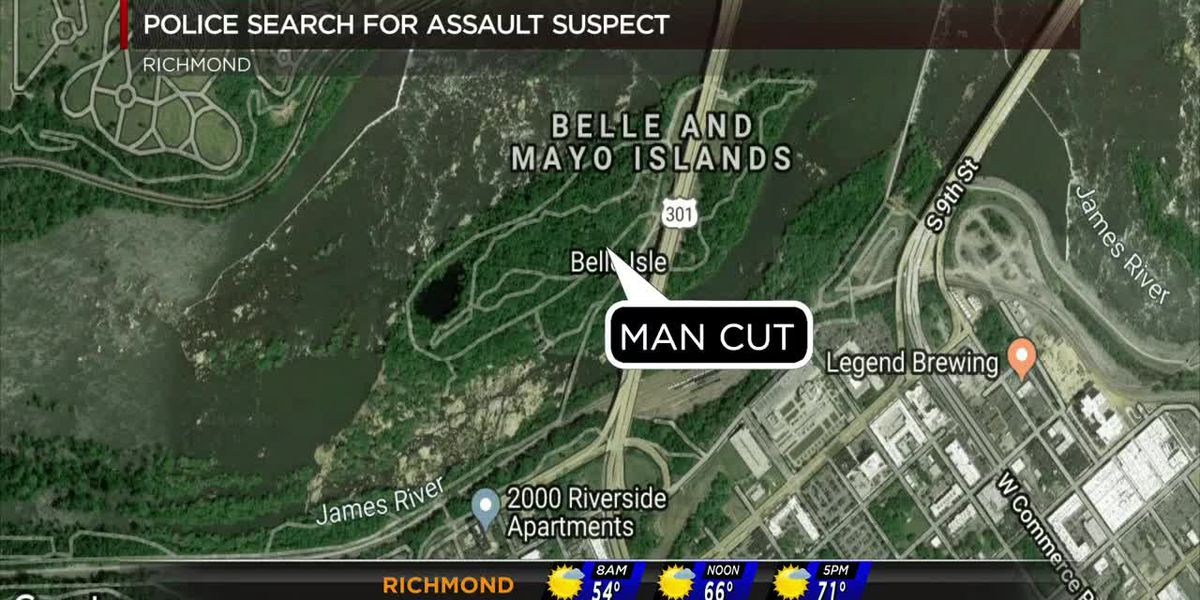 Man cut on Belle Isle