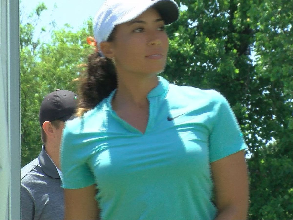 Tiger Woods's niece, Cheyenne, tees off at Kingsmill