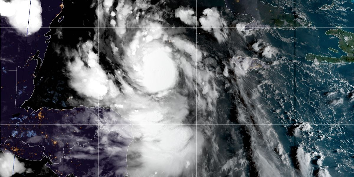 Dangerous Hurricane Delta closing in on Mexico's Yucatan